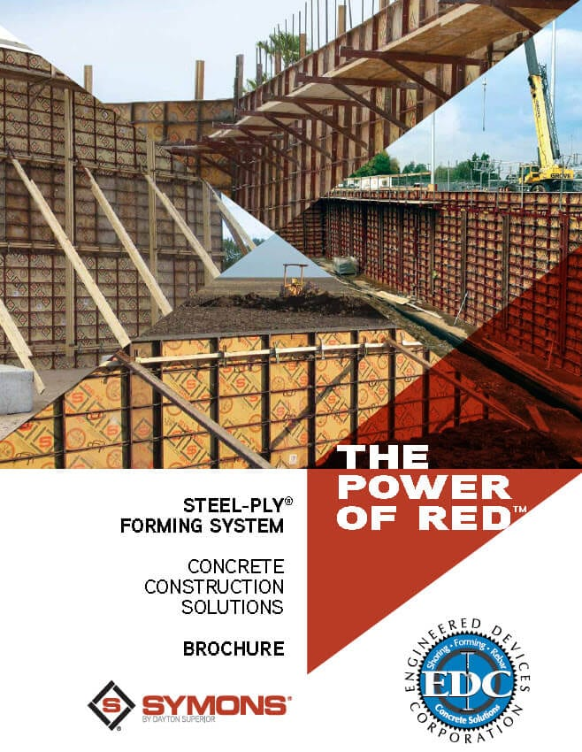 steel ply concrete reinforcing system