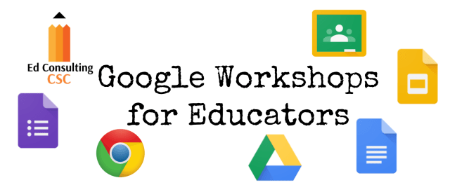 Google Workshops for Educators