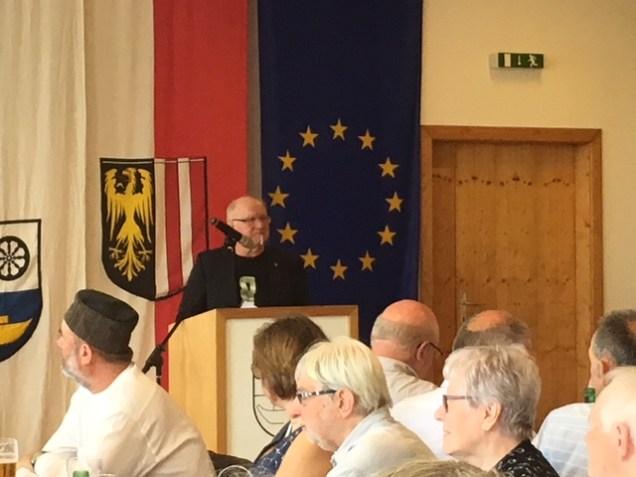 Ludwig Gabriel, Moderation
