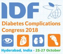 IDF Diabetes Complications Congress 2018 (Hyderabad India, 25-27/10/2018)