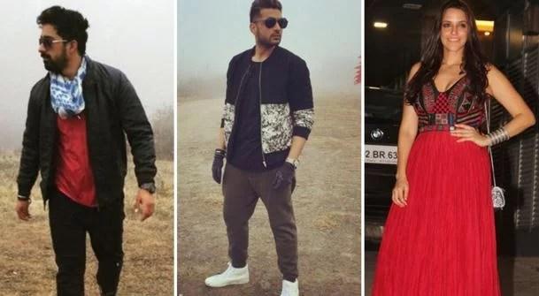 Rannvijay Singha, Neha Dhupia and Karan Kundra