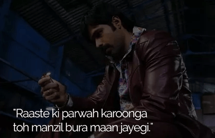 Once Upon A Time In Mumbai Dialogues