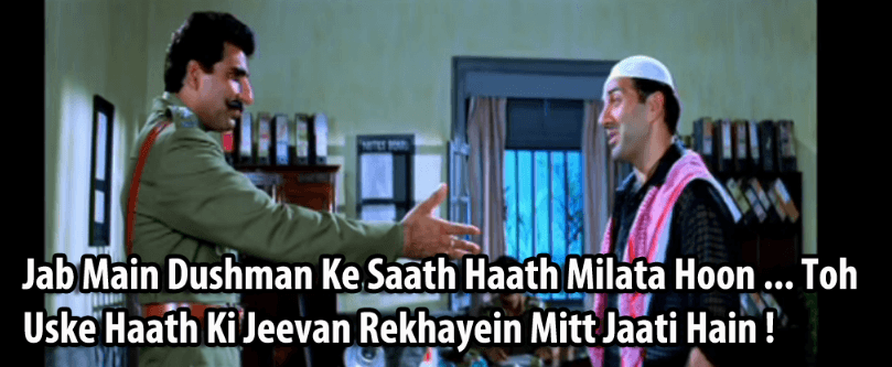 Sunny Deol Famous Dialogues