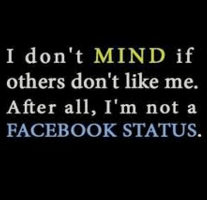 Attitude Status For Facebook