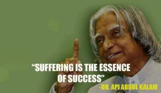 Apj Abdul kalam quotes on success