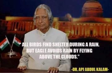 A.P.J Abdul Kalam Quotes on his speeches