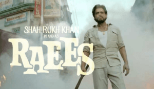 SRK starer Movie Raees Trailer