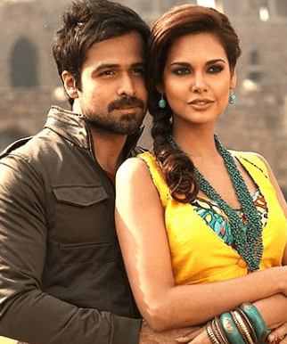 Esha gupta and Emraan hashmi on set pics
