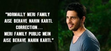 Super hit Dialogue of Kapoor & Sons movie by Sidharth Malhotra