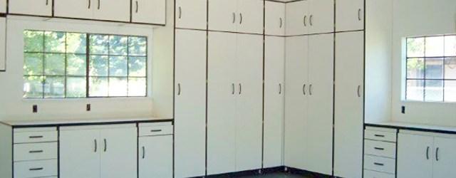 modern garage cabinets