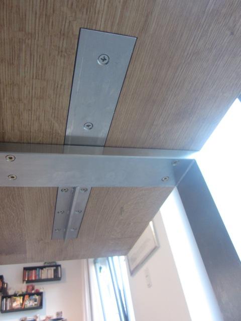 Ansteckplatten Träger für ausgefräste  Platte