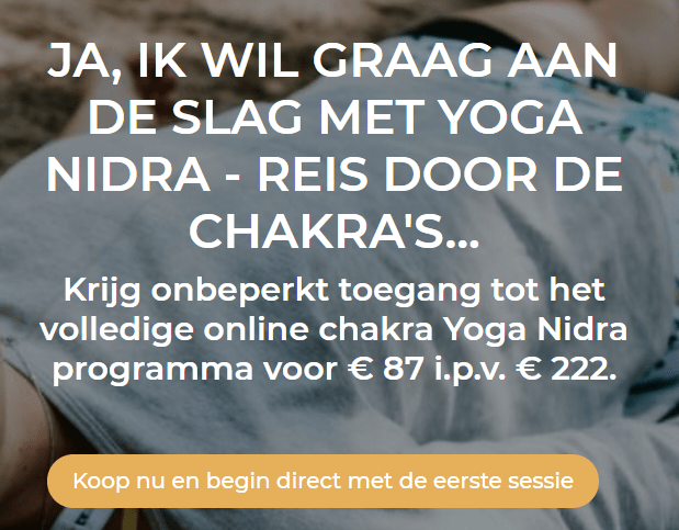 Yoga Chakra aanbieding