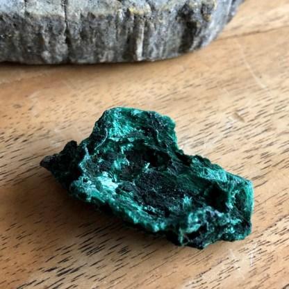 malachiet clustertje ruw mineralen