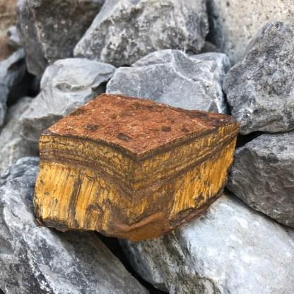 tijgeroog ruw brok nr3 mineralen