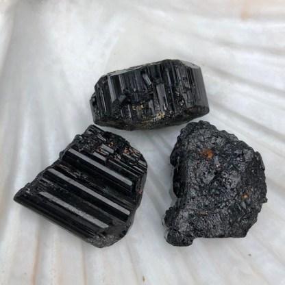 toermalijn zwart ruw madagaskar nr2 mineralen