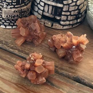 aragoniet roosjes woestijn ruw mineralen