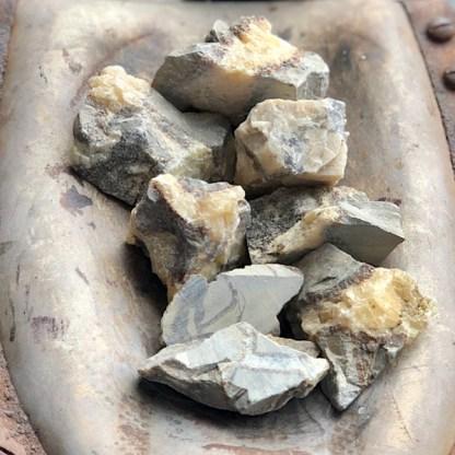 septarie ruwe brokken septaria mineralen