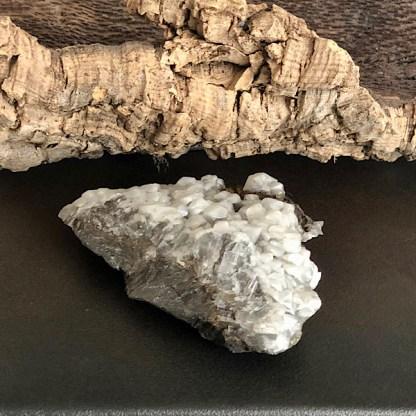 calciet ruw wit spanje de schatkamer mineralen