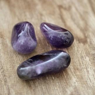 amethist uruguay trommelstenen mineralen