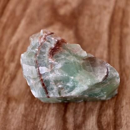calciet ruw groen brok nr2 mineralen