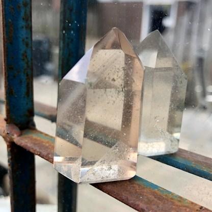kwarts puntje bergkristal mineralen