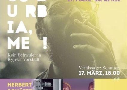 Vernissage Ivan Moon: Suburbia, me! Ausstellung & Lesung