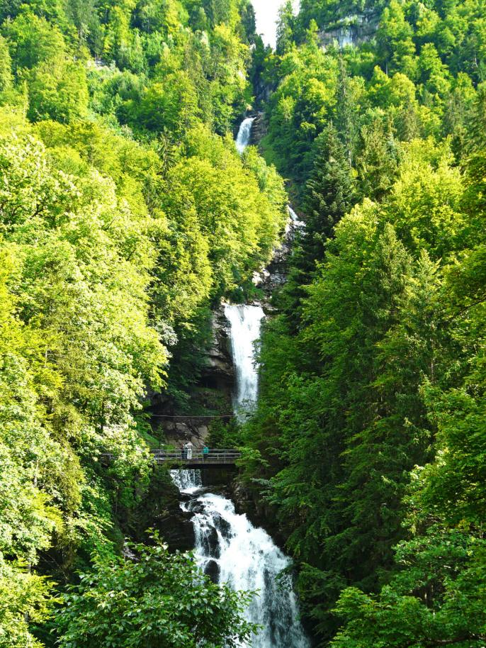 Les cascades de Giessbach