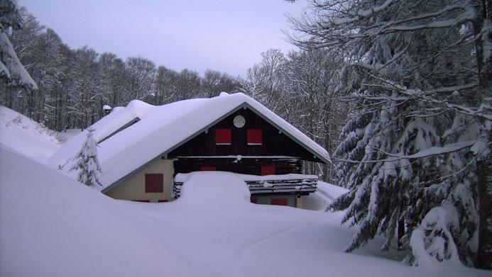 Chalet Edelweiss sous la neige