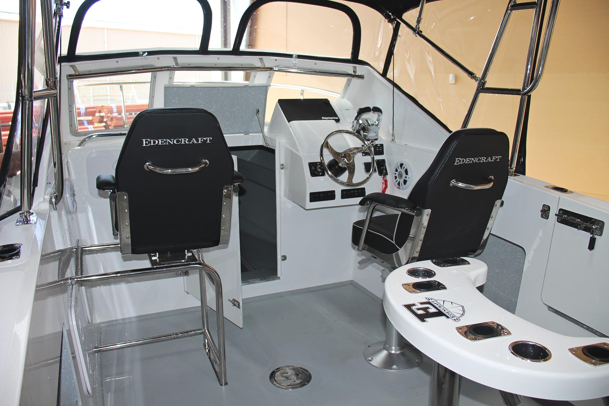 Edencraft 233 Formula deck & dash layout