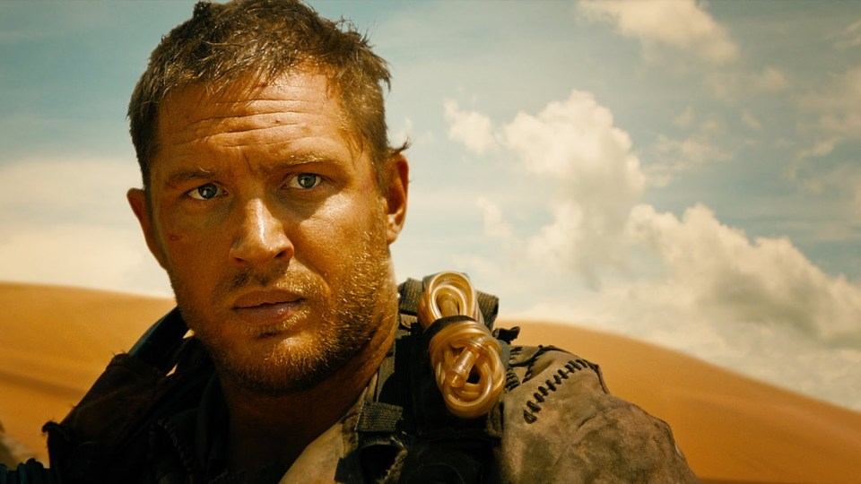 Mad Max Fury Road - Tom Hardy - Writing