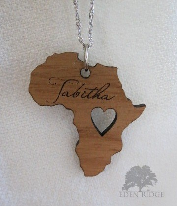 Africa Keepsake Necklace