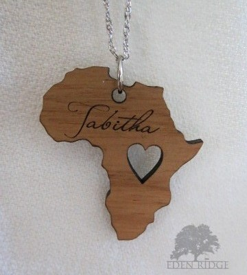 Africa Keepsake Necklace