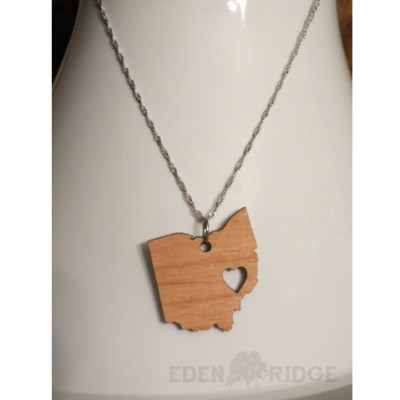 Ohio Keepsake Necklace