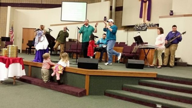 Praise Band Practice