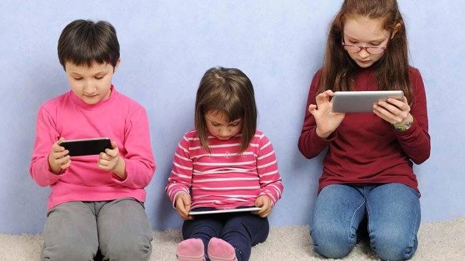 niños y redes sociales internet