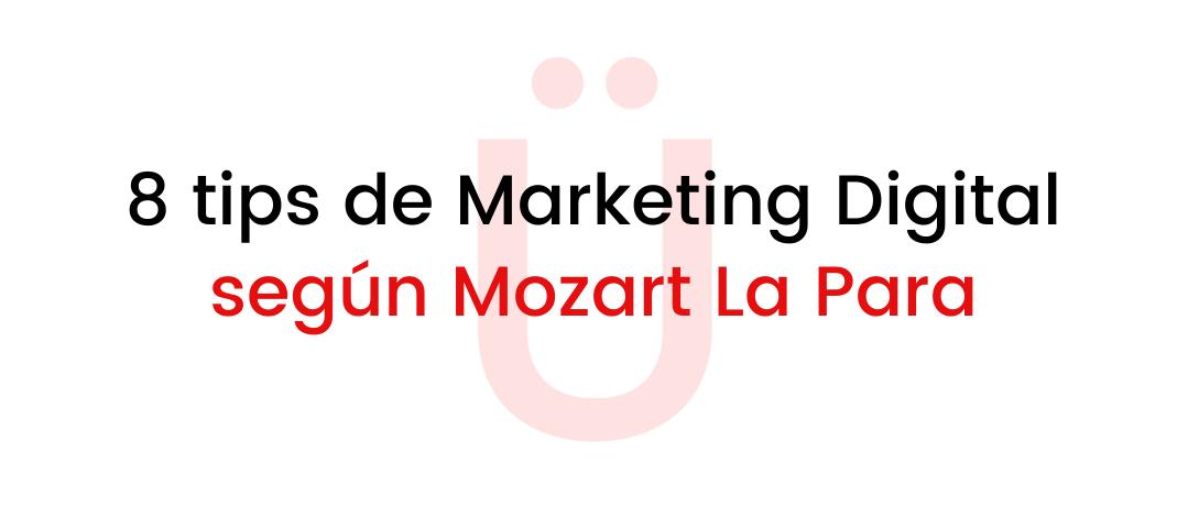 tips de marketing digital de mozart la para artista urbano dominicano
