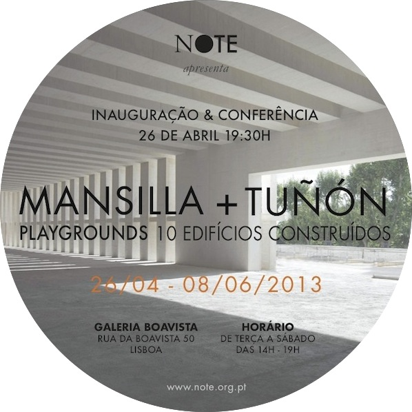 MANSILLA + TUÑÓN – Playgrounds 10 Edificios Construidos [LISBOA]