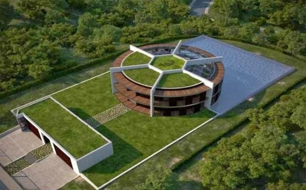 Proyecto ONE-ZERO Eco-House planeada para Lionel Messi [2013]