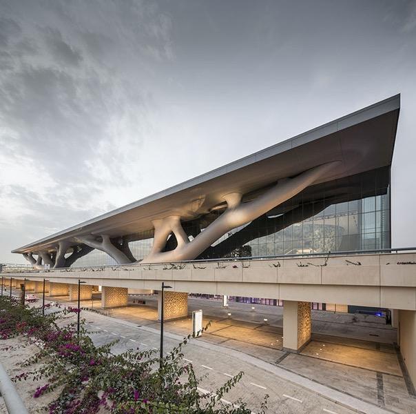 52290ef9e8e44e5fdf0000c6 qatar national convention centre arata isozaki arata isozaki rhwl qncc doha qatar pan 060313 0012