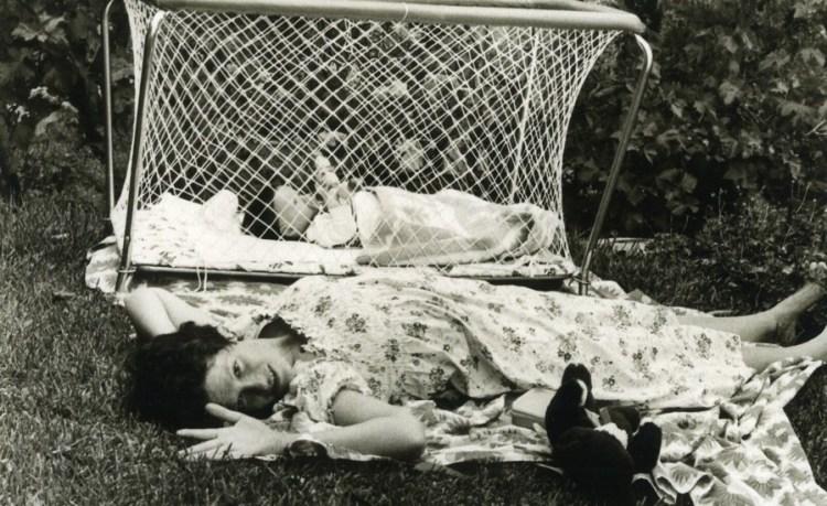 MA MA Childhood+garden mother