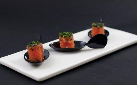 Gravlax de saumon à l'aneth