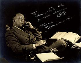 Edgar Rice Burroughs Author Portrait
