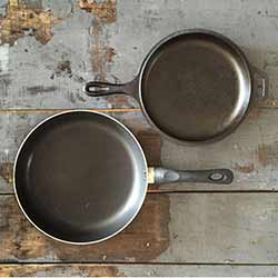 cookware with non-stick coating
