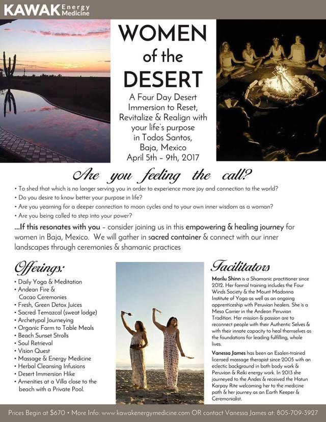 Women of the Desert Retreat @ Todos Santos, Baja, Mexico