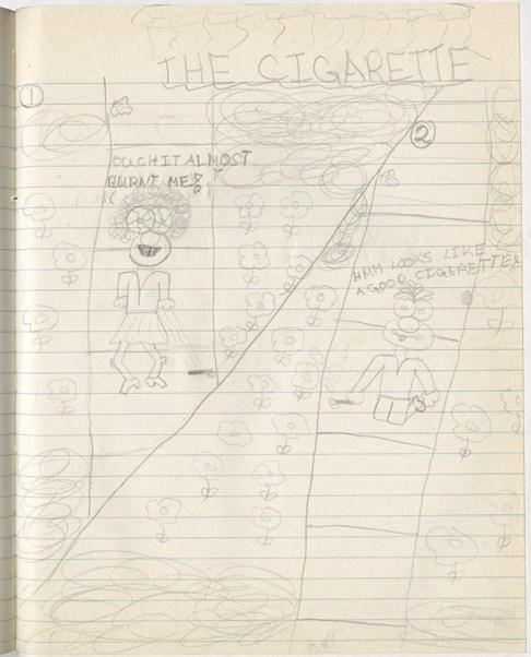 Amy Lockhart Childhood Drawing