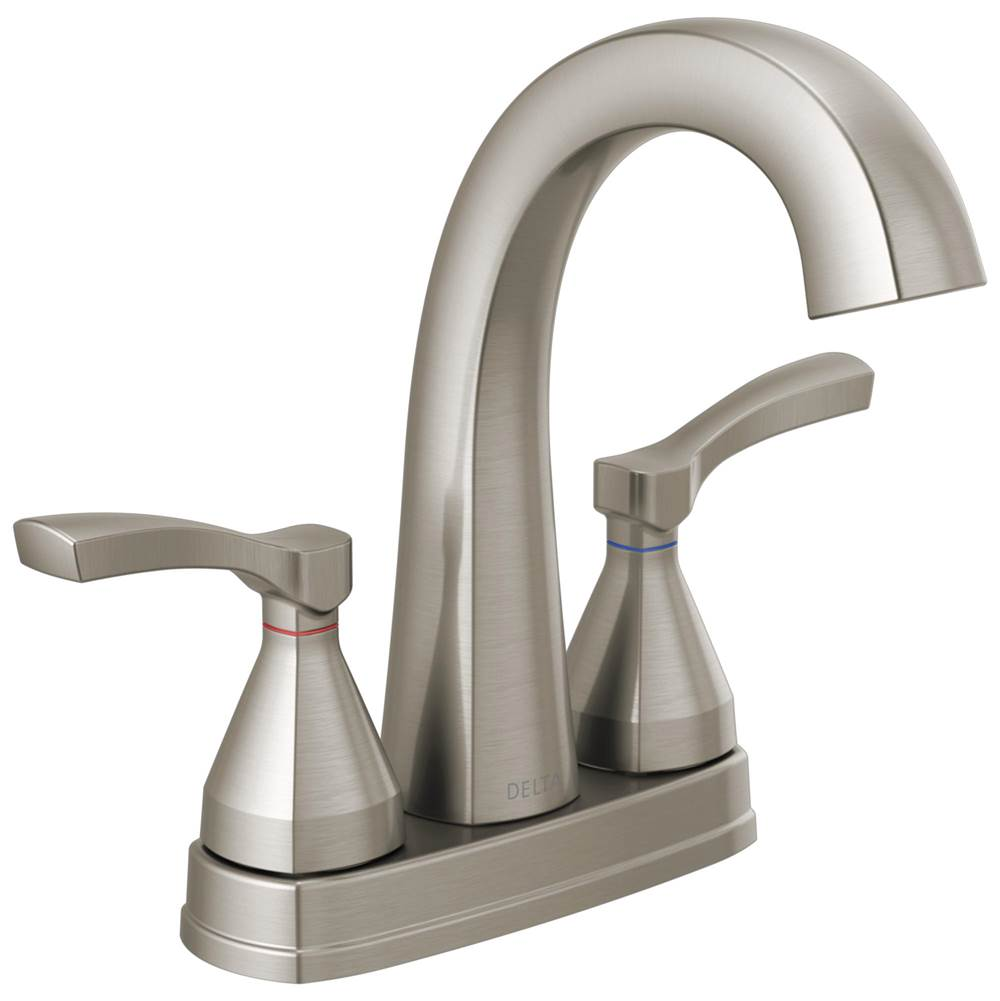 stryke two handle centerset bathroom faucet
