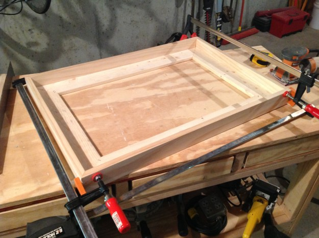 Use clamps to ensure a tight fit while the glue dries.