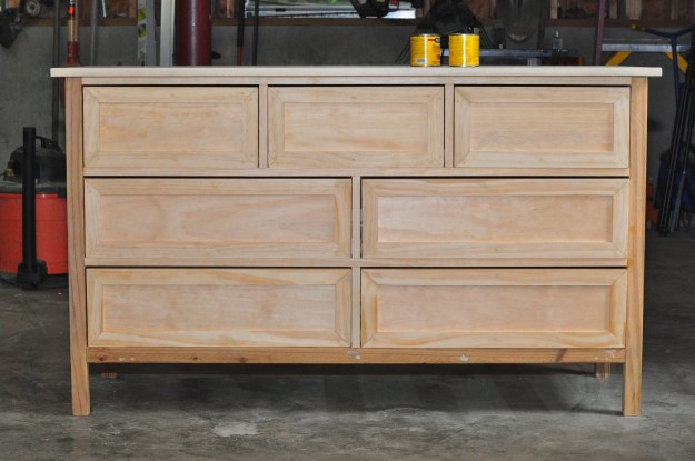 Here's my almost finished Kendal Extra Wide Dresser