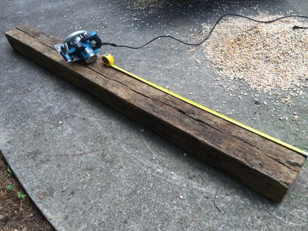 railroad tie steps