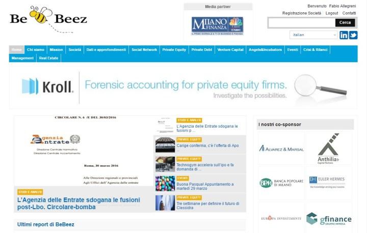Page - sito BeBeez